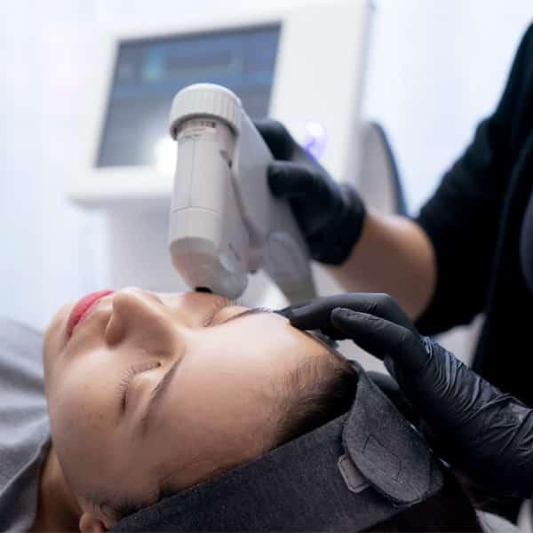 HIFU treatment - high intensity focused ultrasound