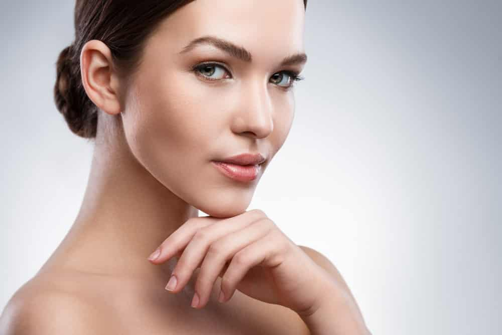 Cosmetic Services - Woman with beautiful face